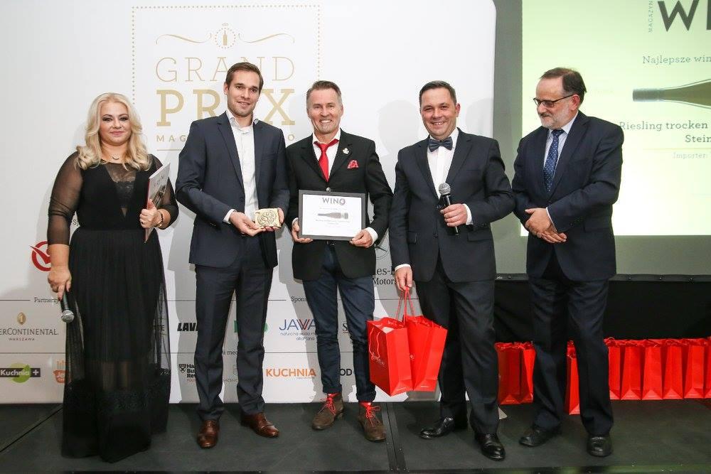 Złoto za najlepsze wino do 50 zł w Polsce ! Importer Winny Garaż !